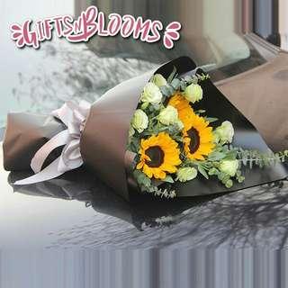 Flower Bouquet∕Hand Bouquet∕Birthday Bouquet∕Anniversary Bouquet∕Proposal Bouquet  - 4E6D9     65