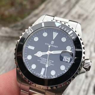Steinhart Ocean One 39mm Black Ceramic