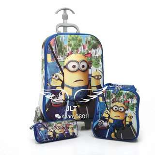 3D trolley bags 16inches php1050
