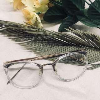 [INSTOCK] clear frame glasses