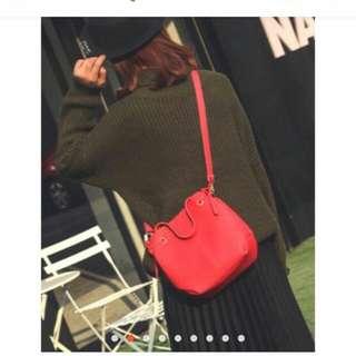 2n1 korean bucket sling bag