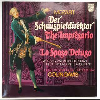 Mozart The Impresario Colon Davis PHILIPS 9500011