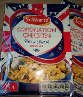 Recipe Mix : Coronation Chicken Special edition