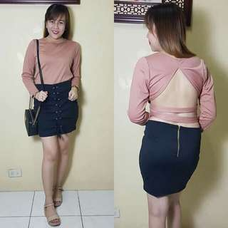 Sexy Back Terno Set