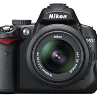 Nikon D5000 Full package