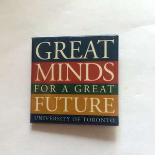 University of Toronto, Great Minds for a Great Future, 2.1""