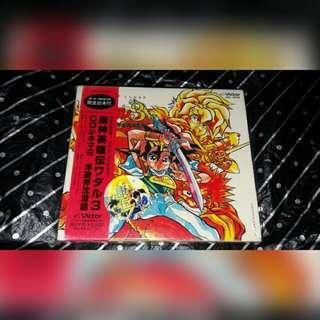 魔神英雄傳 3 歌曲 廣播劇 vol.6 日版 浮遊界沈沒篇 飛雲 龍神號 龍神丸 虎王  動畫 CD
