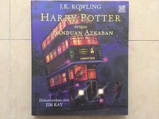 Harry Pottrr dengan BANDUAN AZKABAN