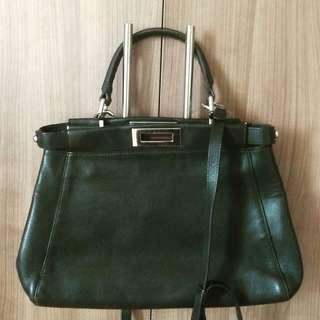 Fendi Peekaboo black bag