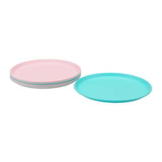 [IKEA] SOMMAR 2018 Side plate, multicolour 6pieces