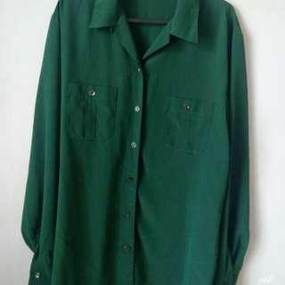 Marks & Spencer Long sleeves satin blouse