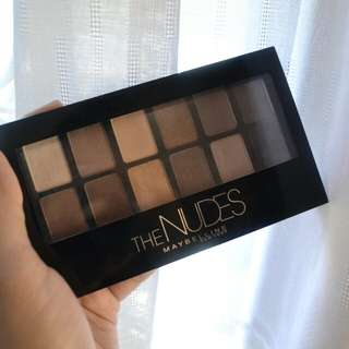 [REPRICE] Maybelline The Nudes Pallete Eyeshadow
