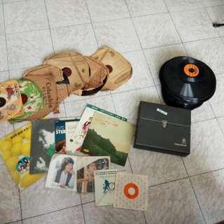 Japanese turntable cd's