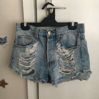 MINKPINK Denim Shorts