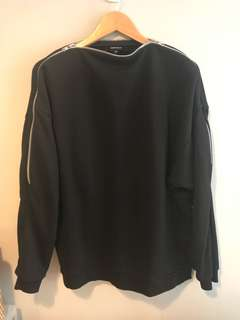Clearance: Berthold Men's Zip Sleeve Sweater
