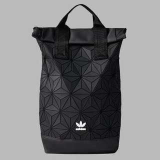 🚚 💥Promotion - ADIDAS 3D MESH ROLL UP BACKPACK BLACK- Issey Miyaki bag