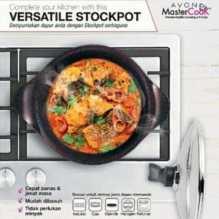Avon MasterCook Stockpot with Lid 24cm