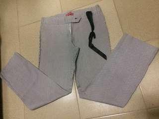 Preloved Office Striped Pants