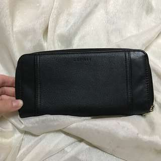 ESPRIT black long wallet
