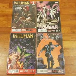 Inhuman 2013-14 complete series w tie-ins