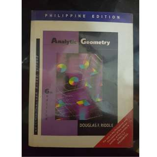 Analytic Geometry (Sixth Edition)