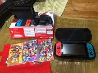 過年前購入任天堂Switch三片遊戲海賊王瑪俐歐賽車奧德賽