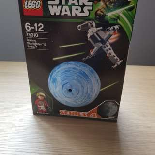LEGO 75010 BNIB B-WING straighter & Endor