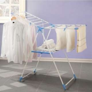 47058 Foldable Winged Butterfly Laundry Hanger Clothes Drying Rack