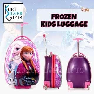 Frozen kids luggage