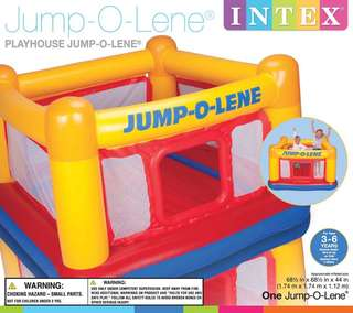 Intex Inflatable Playhouse Jump-O-Lene Bouncer Toy for Kids