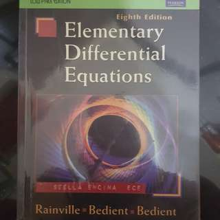 Elementary Differential Equations (Ninth Edition)