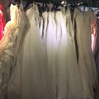 Wedding dress clearance sale