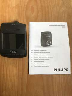 Philips ADR610 Car driving video recorder
