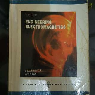 Engineering Electromagnetics (Seventh Edition)