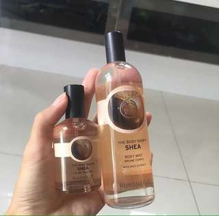 THE BODYSHOP PARFUM ONLY 170k sepaket!