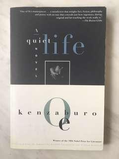 A quiet life by Kenzaburo Oe