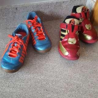 Iron Man Avengers Adidas & Puma shoes
