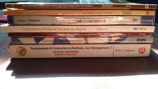 GRADE 11 SENIOR HIGH SCHOOL BOOKS (individual price in the description)