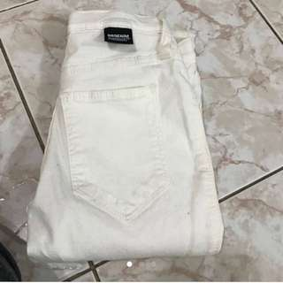Dr Denim White Jeans Brand New