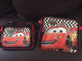 Lightning McQueen Bag with FREE small version