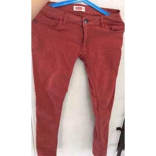 Bench Orange colored Jeans pants