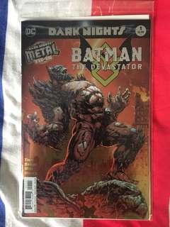 DC Dark Nights Metal Batman The Devastator #1