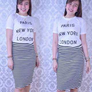 Stripes Terno Set