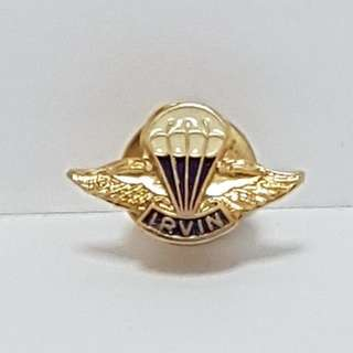 The Irvin Parachute Lapel Badge Pin, Collectible