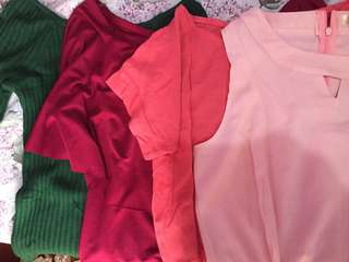 Pre-loved blouse take all