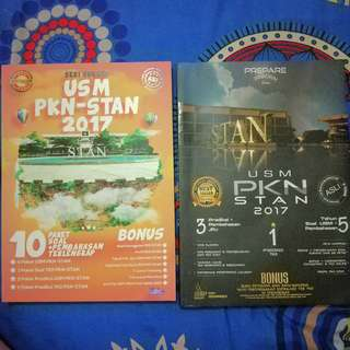 Paket hemat Buku latihan USM PKN STAN. Take all ya