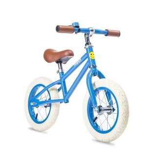 BNIB Happy Bikes Balance Bike - Taylor (Blue)