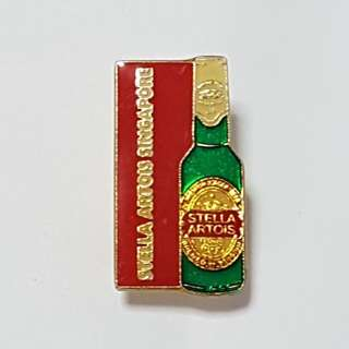 Stella Artois Singapore Pin, Collectible