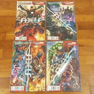 Marvel Axis/ Axis Revolutions 2014 complete series