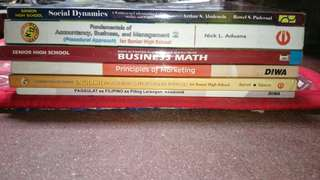 GRADE 12 SENIOR HIGH SCHOOL BOOKS (individual price in the description)